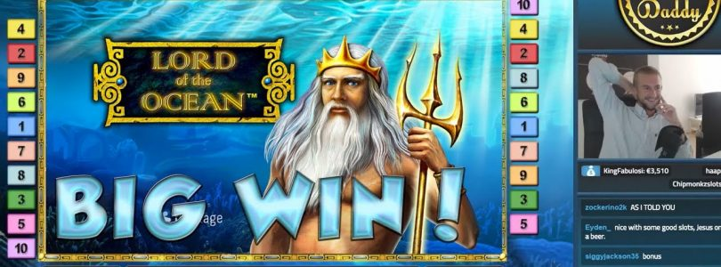 BIG WIN!!!! Lord of the ocean — Casino Games — bonus round (Casino Slots) From Live Stream
