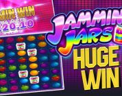 INSANE HUGE WIN ON JAMMIN JARS SLOT ON LAST SPIN!!!!!