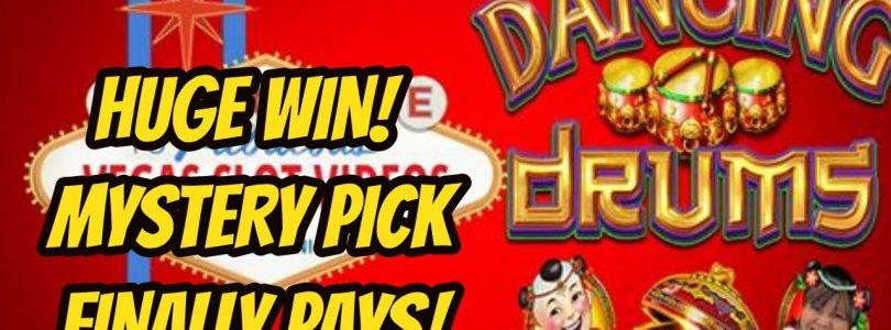 BIG WIN ON MYSTERY PICK-DANCING DRUMS