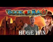 Book of ra 6 BIG WIN — HUGE WIN — Casino Games from LIVE Stream