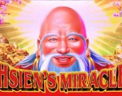 BIG WIN as QUAD SHOT STRIKES AGAIN + HSIENS MIRACLE & DREAMS of EGYPT SLOT MACHINE POKIE BONUSES