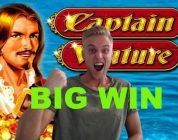 Captain Venture BIG WIN — 10€ bet — Online Slots — Casino Games from LIVE Stream