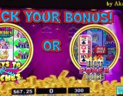 Akafuji Slot Super Big Win★Stinkin' Rich Slot, Hot POKER DICE With PROGRESSIVES Bonus, Barona Casino