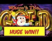 Where's The Gold — HUGE WIN — Aristocrat — Choctaw Casino Durant OK