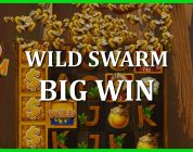 SWARM MODE FREE SPINS! BIG WIN ON WILD SWARM!