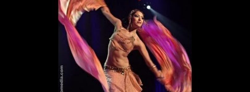 Alessa Fortuna performs bellydance fusion at The Massive Spectacular! Las Vegas
