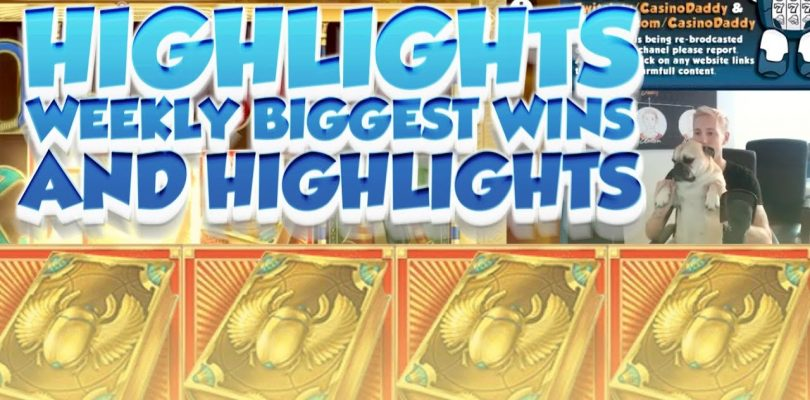 CASINO HIGHLIGHTS FROM LIVE CASINO GAMES STREAM WEEK #7 With big wins and funny moments