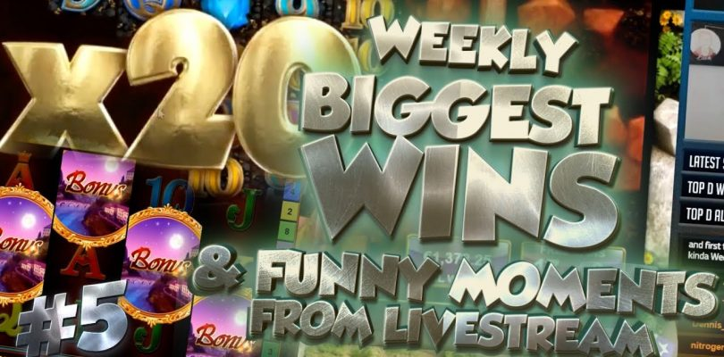 CASINO HIGHLIGHTS FROM LIVE CASINO GAMES STREAM WEEK #8 With big wins and funny moments