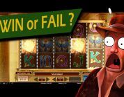 Big win in online casino on slot Book of Dead by «Play n Go»! Watch how it was. With free spins ⭕