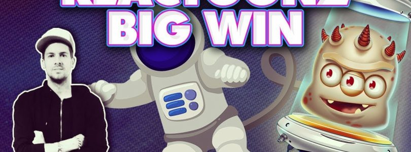 ★ REACTOONZ BIG WIN 2 EUR BET