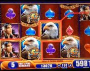 GREAT EAGLE Returns Slot machine MEGA BIG WIN BONUS