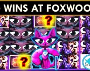FOXWOODS FUN! BIG WIN BONUSES (over 100x!) on MISS KITTY &  BUFFALO SLOT MACHINES
