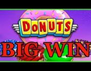 Donut's slot (12 FS up to 70x Multiplier) BIG WIN !!
