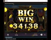 Big Win playing online slots and poker on Ignition Casino