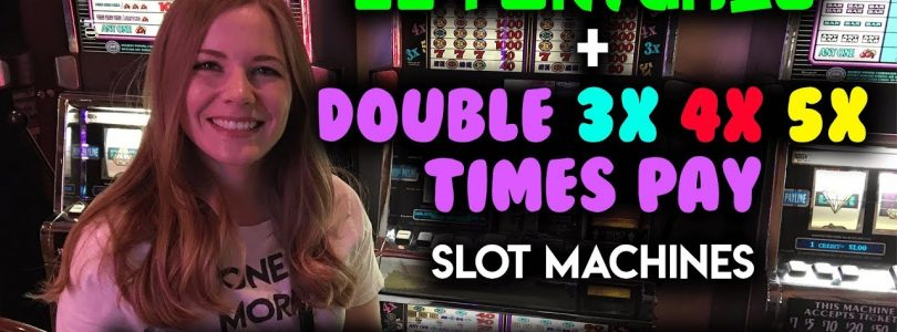 INCREDIBLE HUGE WIN on DOUBLE 3X 4X 5X Pay! $8.80/Spin 88 Fortunes Slot Machine!