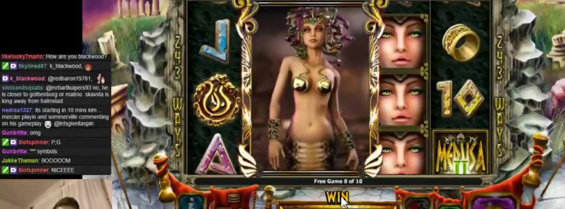 MEGA Big win in SLOTS Medusa II! ONLINE CASINO 2017 SWEDEN
