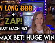 MASSIVE WIN on ZAP! Slot Machine! Max Bet Jin Long BONUS!