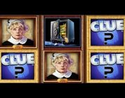 Clue Slot Machine Bonus — Lights out Random Conservatory Bonus BIG WIN!