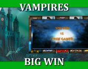BIG WIN ON VAMPIRES WITH 10€ BET!