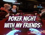 PokerStars VR — Poker night with the boys (BIG WIN)