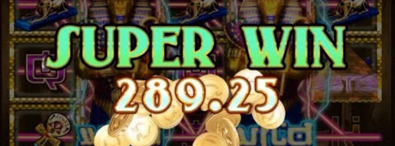 SUPER BIG Win 122x on King Pharaoh Slot (5€ Bet)