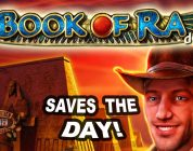 HUGE WIN on Book of Ra Slot — £4 Bet!
