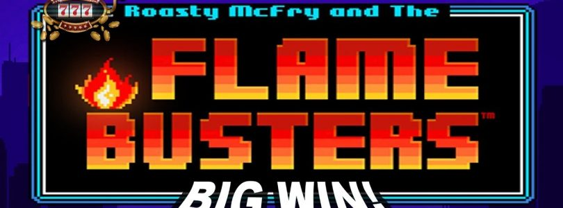 BIG WIN on Flame Busters Slot — £2 Bet