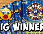 **BIG WIN on WHEEL OF FORTUNE!!!** 5X TICKETS! ✦ Texas Lottery Scratch Off Tickets