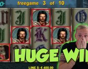 Online Slot — Dragons Treasure Big Win and bonus round (Casino Slots) Huge win