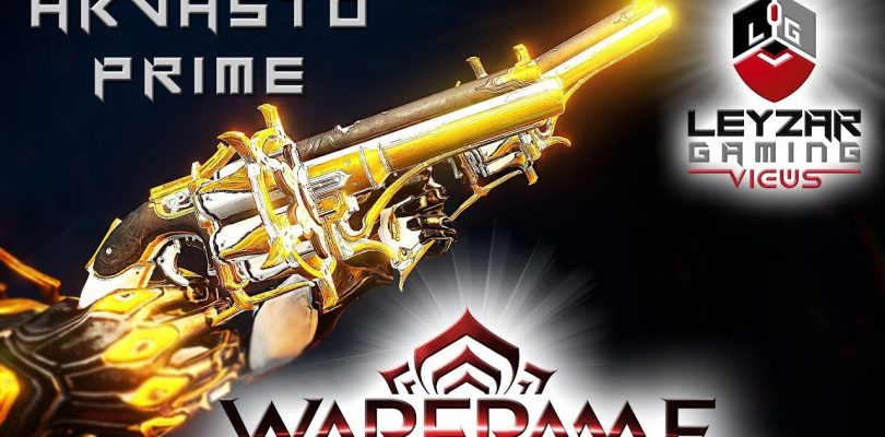 Akvasto Prime (Build) — The Double Six Shooters (Warframe Gameplay)