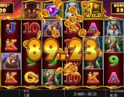 Online Slots -Buffalo Rising Big Win