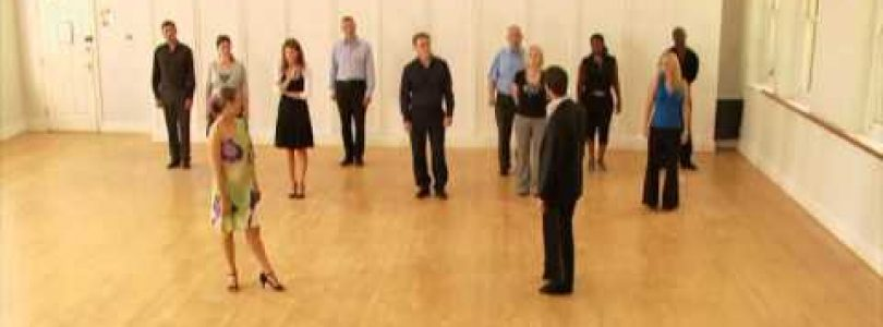 CHA CHA dance class for beginners with Brian Fortuna 1 of 4