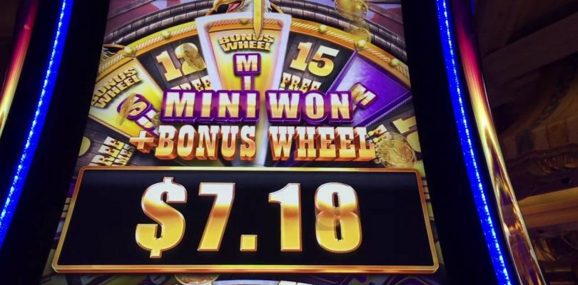 Buffalo Grand **BIG WIN** Slot Machines — Caesars, Las Vegas