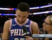 Ben Simmons Explains How 76ers Came Away With Big Win | New York Knicks | MSG Networks