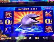 Akafuji SUPER BIG WIN★Lightning Link Slot Machine 10c Denom Bet $2.50, Cosmopolitan Las Vegas