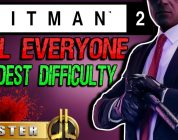 HITMAN 2 — Kill Everyone — Master Difficulty — Santa Fortuna