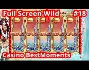 Casino BestMoments | TOP5 Biggest Wins #18  Full Screen Wild. Super Mega Big Win!