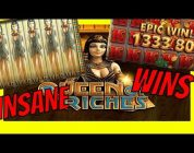 900x INSANE BIG WIN ON QUEEN OF RICHES | BIG SLOT WIN | CASINO ONLINE SLOTS