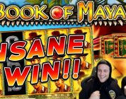 Book of Maya Big win — HUGE WIN with best symbol — free spins (Online Casino)