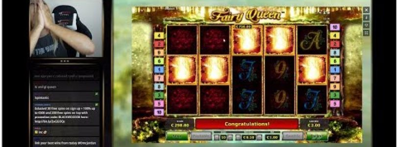MEGA BIG WIN ON FAIRY QUEEN! RETRIGGER MADNESS ON NOVOMATIC!