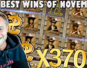 CASINODADDY Top Big Wins Of The MONTH! HUGE 3500x+ WIN! #4 (EPIC WINS from November 2018)