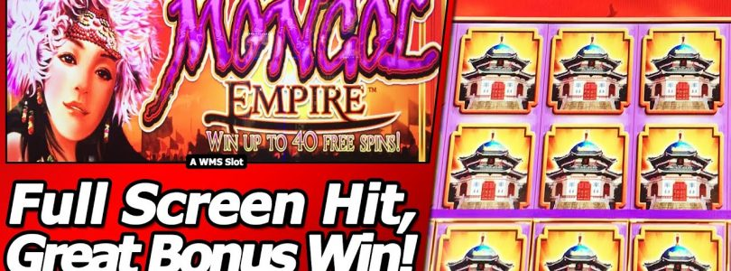 Mongol Empire Slot — Full Screen hit, Mega Big Win Bonus!