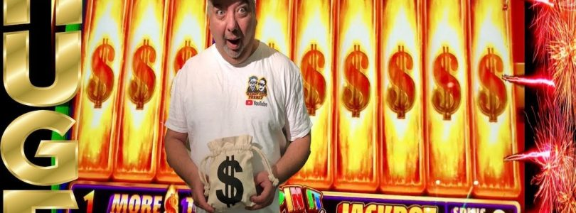 HUGE WIN! $$$ SPIN IT GRAND★RETRIGGER INSANITY★KEN, NAILED IT★FOUR WINDS CASINO