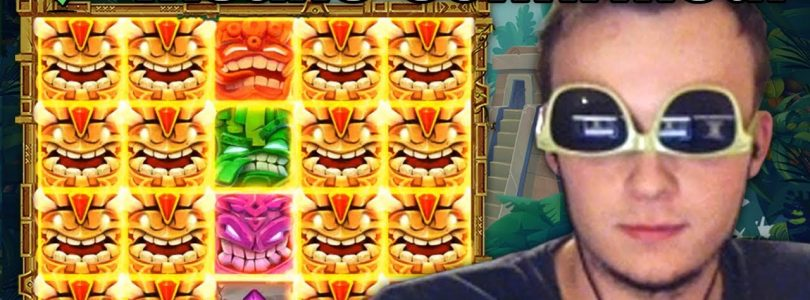HUGE WIN on Tiki Tumble Slot!!