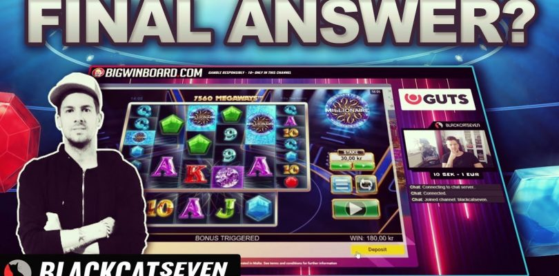 ★ MILLIONAIRE (BIG TIME GAMING) BIG WIN