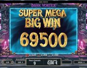RECORD WIN ON DARK VORTEX — Won by Hornyx from aboutslots.com community — (Online Casino big win)