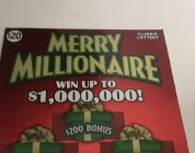 Multiples! Big Win! Scratching a Merry Millionaire $20 Instant Lottery Ticket