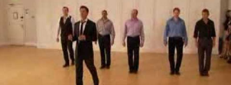 Basic Ballroom FOXTROT dance Men's timing steps feat.Brian Fortuna 2 of 3