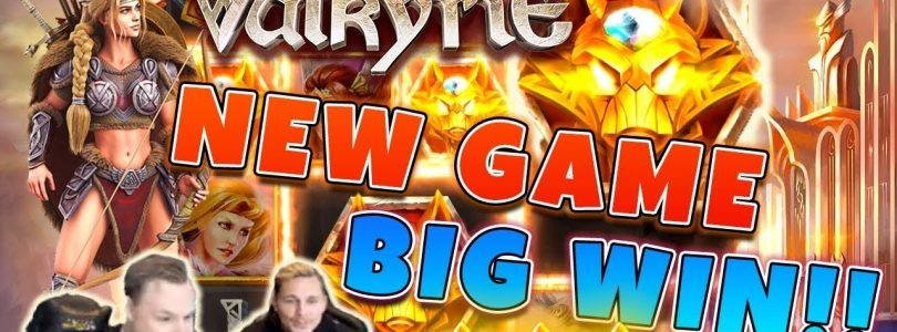 Valkyrie Big win — New game from ELK studios — free spins (Online Casino)
