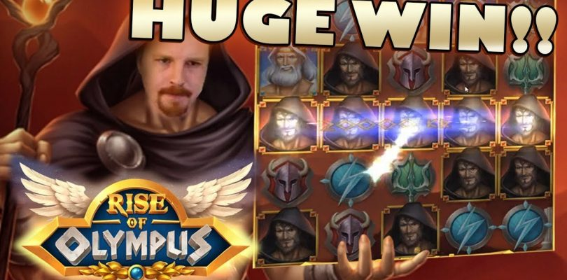 HUGE WIN — Rise of Olympus (Moon Princess)